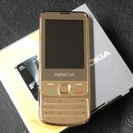 โทรศัพท์มือถือปุ่มกด Nokia6700Cปุ่มกดไทย-เมนูไทย เปลือกโลหะ ได้AIS TRUE ซิมการ์ด 4G