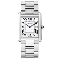 (無卡分期24期) CARTIER卡地亞 TANK SOLO 經典腕腕錶-27x34.5mm