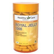 蜂王乳 Healthy Care Royal Jelly 1000 365 Capsules 澳洲代購