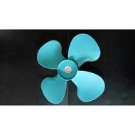 """藍色! 18"""" 工業電扇 塑膠 風葉 葉片 扇葉 工業電扇 工業風扇 電風扇 風葉 四葉片 工廠批發價 台灣 18吋"""
