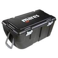 義大利MARES - DIVING BOX滾輪裝備箱 /拉桿滾輪設計