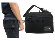 ~雪黛屋~YESON 腰包外袋+主袋共三層可4.7寸手機高單彈道防水尼龍布腰包肩背斜側分類包台灣製造品質保證Y68216