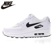 NIKE_AIR_MAX_90_ESSENTIAL สำหรับทั้งหญิงและชายรองเท้าสีขาว Breathable Shock - absorbing น้ำหนักเบา