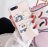 Blu-ray We Bare Bears Phone Case For iPhone [Free Delivery]