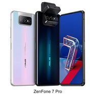 ASUS ZenFone 7 Pro (ZS671KS) 8G/256G 6.67吋 翻轉鏡頭手機(贈手機支架)煥彩白