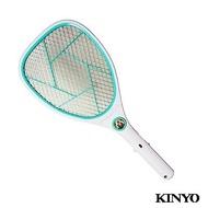 附發票(東北五金) KINYO鋰電池USB直充式照明電蚊拍(CM-2233)
