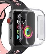 เข้ากันได้กับเคส Apple Watch Series 4 40 มม.44 มม.เคส ultra CLEAR Soft TPU แบบเต็มเคสเคสเหมาะสำหรับ Apple Watch 5