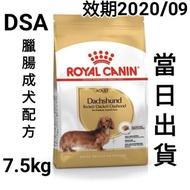 【7.5kg】【當日出貨,假日除外】法國皇家-DSA臘腸成犬專用