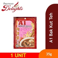 【A1 Bak Kut Teh Spices 35g】Malaysia's Product. Import from Klang Malaysia!
