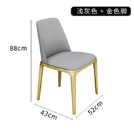 Marble dining Table Nordic modern minimalist dining table and chair combination round Table home din