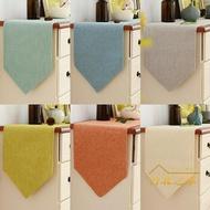 餐墊純色桌旗現代簡約中美式北歐電視櫃鞋櫃蓋布餐桌裝飾布長條床尾巾