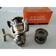 SHIMANO 捲線器 EXAGE  4000FD  雙線杯 適合溪釣 池釣 路亞 磯釣