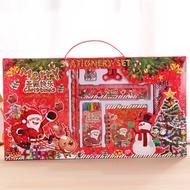 Christmas Stationery Set Pencil Eraser Ruler Sharpener Pencil case Primary School Holiday Gift