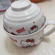 Hello Kitty 二手泡麵碗