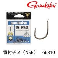 GAMAKATSU 管付チヌ[鍍黑] [漁拓釣具] [黑鯛鉤]