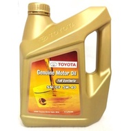 Toyota 5W40 Fully Synthetic Engine Oil Motor Oil