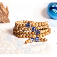 Gem 108 beads mala with birthstone – classic