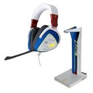 ASUS 華碩 ROG Delta 電競耳機 + Throne Qi 無線充電/音效擴大器【鋼彈聯名款】