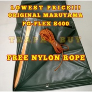 ✧▨6ft x 15ft LEGIT MARUYAMA / RUBBERIZED CAN LAST UP TO 10 YEARS TRAPAL TOLDA LONA TARPAULIN