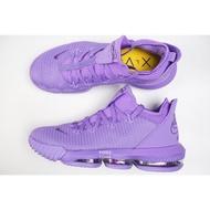 NIKE LEBRON 16 LOW LBJ16 低筒 編織 籃球鞋 球鞋 CI2669-500 紫 男鞋