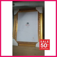 HOT SALE !!ราคาถูกมากๆ## กรอบรูป ขนาด A4 สีทอง