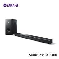 【Yamaha山葉】藍芽無線家庭劇院 SoundBar MusicCast BAR 400 (YAS-408)