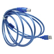Cyber Extreme Crystalline Inkjet Printer Computer Cable UV Tablet 3m 5m USB Data Cable