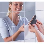 Wall Sticker Mirror Mirror Glass Wallpaper Wall