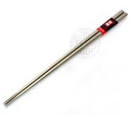 牛頭牌超輕量小牛不銹鋼方頭筷子【一雙】304不鏽鋼筷子 本體18-8鋼印 環保筷