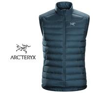 【ARCTERYX 始祖鳥 加拿大】Cerium LT 羽絨背心 羽絨外套 冬季保暖外套 男款 迷惑藍 (L07233900)