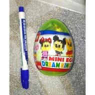 可愛卡通造型積木 扭蛋球