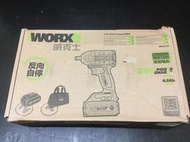 原裝WORX 威克士 WU279 最新款 無刷沖擊板手 320牛頓