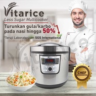 Vitarice Low Carbo Rice Cooker Low Rice Cooker Low Rice Cooker Sugar Low Rice Cooker Karbo Original
