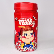 Peko 不二家 六角拉鍊 筆盒 文具盒 日本正版 牛奶妹