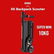 สกูตเตอร์ไฟฟ้า HX-X6 Backpack E-Scooter From Caravan E Scooter(Free-Shipping) Mini Electric Scooter ไฟฟ้า สกู๊ตเตอร์ไฟฟ้า ไฟฟ้า ผู้ใหญ่