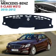 Dashboard Cover Protective Pad For Mercedes Benz E Class W212 Car Accessories Sunshade Carpet E Klasse E200 E250 E300 E220d Amg