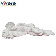 Statue of St. Joseph Sleeping 16 cm White