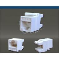 Cat.6 資訊插座 網路插座 網路線模組 資訊面板 RJ45 插座
