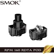 ต้นฉบับSMOK RPM 160 RDTA Podตลับหมึกเปล่า5.5Ml Atomizer Vape FIt Rebuildable CoilsสำหรับEบุหรี่RPM160 Vaporizerชุด