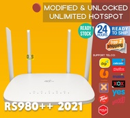 2021 RS980++ New Upgrade Modified Unlock Sim Modem Wireless Router Wifi 4G LTE CPE MOBILE LT210 Like B310 Huawei RS980 CP101 RS860 CP2003 CP108 LC116