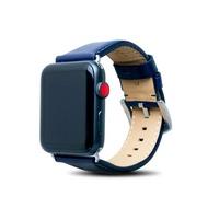 Alto|Apple Watch 皮革錶帶 42/44mm - 海軍藍 (適用 Apple Watch 1~6代)