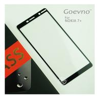 Goevno NOKIA 7 Plus 滿版玻璃貼  鋼化玻璃