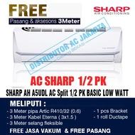 AC Sharp 1/2 PK AC Sharp 1/2PK AH-A5UDL LOW WATT