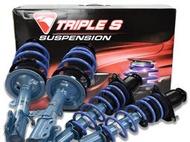 阿宏改裝部品 HONDA CRV 4 KYB NEW SR 藍桶 避震器 + TS 短彈簧 降低 總成 可刷卡