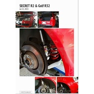 遠鵬國際★Secret★手工訂製避震器 Golf R32 GTI Beetle Scirocco PASSAT PLUS