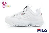 FILA DISRUPTOR 2 鋸齒鞋 韓版女款 復古老爹鞋 厚底運動鞋 D9929#白色◆OSOME奧森鞋業