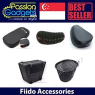 ★▌♥Bicycle Accessories♥ ▌★ e-scooter★Rear Seat★Child Seat★Basket★Accessories for Fiido accessories