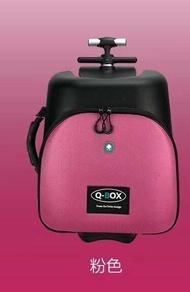 เด็กสามารถทำกระเป๋าเดินทางขี้เกียจสามารถนั่งรถเข็นกล่องล้อสากลเด็กกินนอนเดินทาง