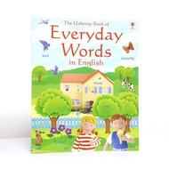 Usborne Everyday Words 500 daily vocabulary English picture books and early childhood education books English original
