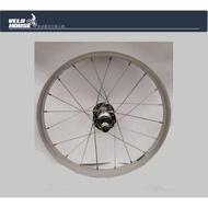 ★飛輪單車★ 16吋童車變速後輪輪組傳統鎖牙式軸心[05901517]